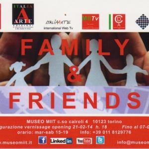ITALIA ARTE - FAMILY & FRIEND - Museo MIT TORINO
