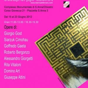 6 Biennale Arte Ferrara