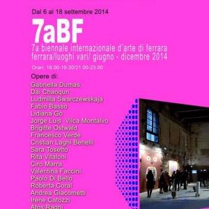 7 Biennale Arte Ferrara