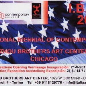 INTERNATIONAL BIENNIAL OF CONTEMPORARY ART ZHOU BROTERS ART CENTER CHICHAGO