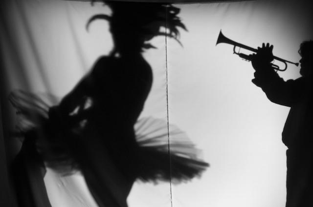 """dance my music please - Back stage """"D'io Open per licenza poetica"""" di Valentina Bulzi e Stefano Delgaste Scenografia digitale: Sabota;"""