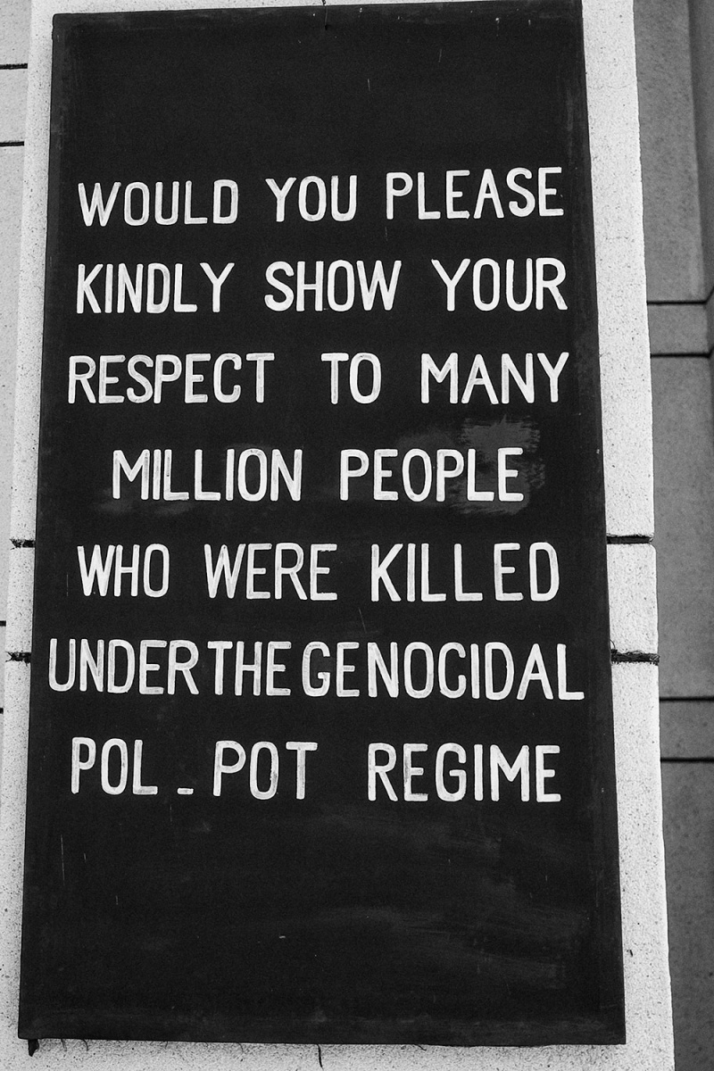 2013 CAMBOGIA - POL POT GENOCIDIO