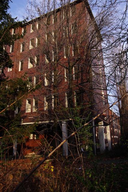 L'abbandono dell'ex Istituto Mario Negri